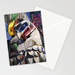 Totem Poles in the Pacific Northwest Stationery Cards