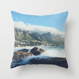 Hello Cape Town Throw Pillow