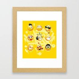 Emo-Gs Framed Art Print