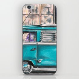 Hippie Van iPhone Skin