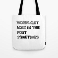 words. Tote Bag