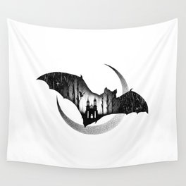WHEN THE NIGHT COMES Wall Tapestry