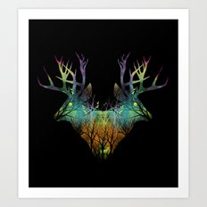 Spirit Animal Art Print