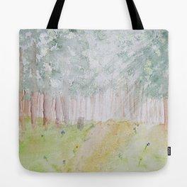 Walk Through the Woods Tote Bag
