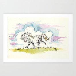 pretty pony Art Print