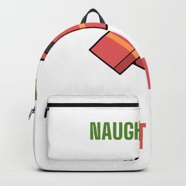 No Naughty Regrets Naughty and Silly Gift Backpack