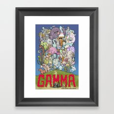 GAMMA cover Framed Art Print