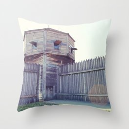 Fort Vancouver Throw Pillow