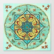 Overhead Sky Mandala Canvas Print