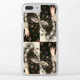 Hand of Mary Medici Clear iPhone Case