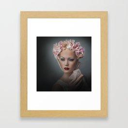 Flower Chid Framed Art Print