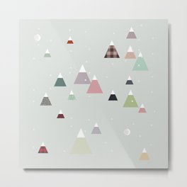 winter || in white Metal Print