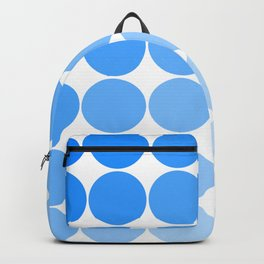 Blue Circle Color Chart Backpack