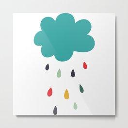 Lovely Rain Metal Print