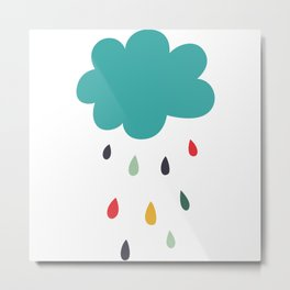 Lovely Rain Metal Print