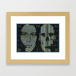 Human Condition Framed Art Print