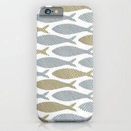 shoal of herring iPhone Case