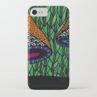 lv iPhone & iPod Cases featuring Cogumelo LV by Carolina Delleteze