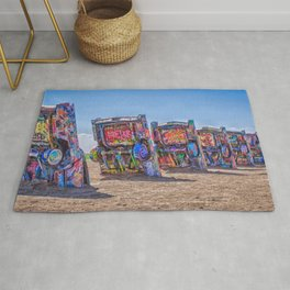 Cadillac Ranch Rug