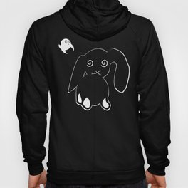 Bunny & Ghost (night version) Hoody