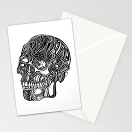 Death Mask No1 Stationery Cards
