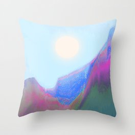 Bright Sun Throw Pillow