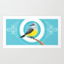 Western Kingbird Art Print