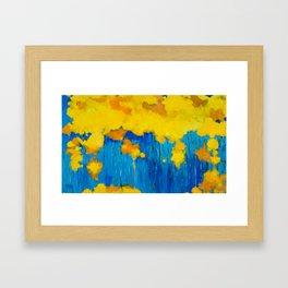 Autumn Tree Tops Framed Art Print