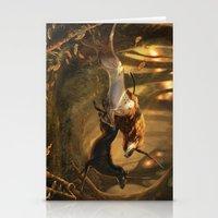 unicorns Stationery Cards featuring Unicorns by ErikaStudio