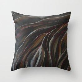 Sandy Breeze Throw Pillow