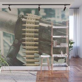 Old machine Gun. First World War Machine gun. Wall Mural