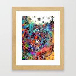 Torn at the Seams Framed Art Print