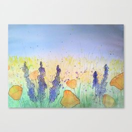 You Belong Among The Wildflowers Canvas Print