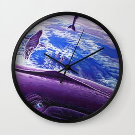 Cosmic Migration Wall Clock