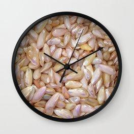 Pearly Shells Wall Clock