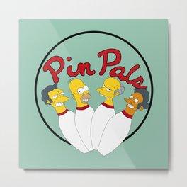 Pin pals Metal Print