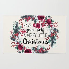 Happy Holidays 2 Rug