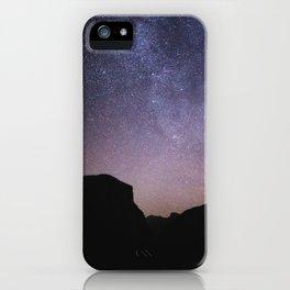 Yosemite Night Sky iPhone Case
