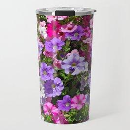 Petunias in bloom Travel Mug