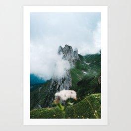 Flower Mountain in Switzerland - Landscape Photography Art Print