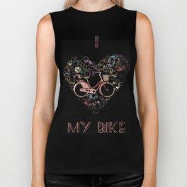 I Love My Bike Biker Tank