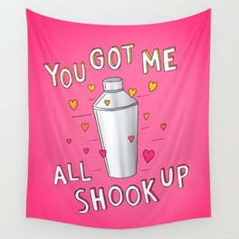You Got Me All Shook Up Wall Tapestry