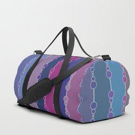 Multi-faceted decorative lines 3 Duffle Bag