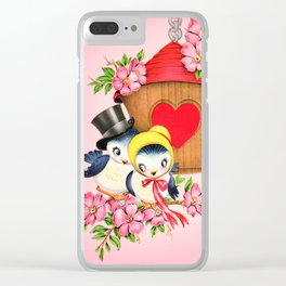 Love Birdhouse Clear iPhone Case