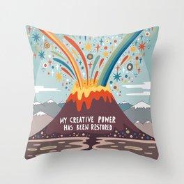 My creative power Throw Pillow