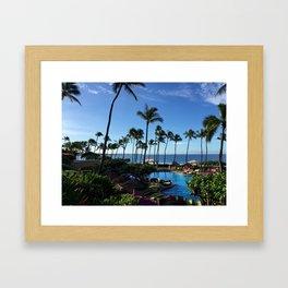 Beauty Pacific Framed Art Print