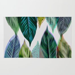 Green Leaves Rug