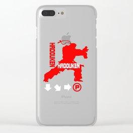 Hadouken Ryu Clear iPhone Case
