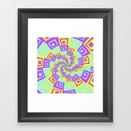In A Twist Framed Art Print