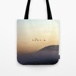A Sunrise as Good as Gold Tote Bag